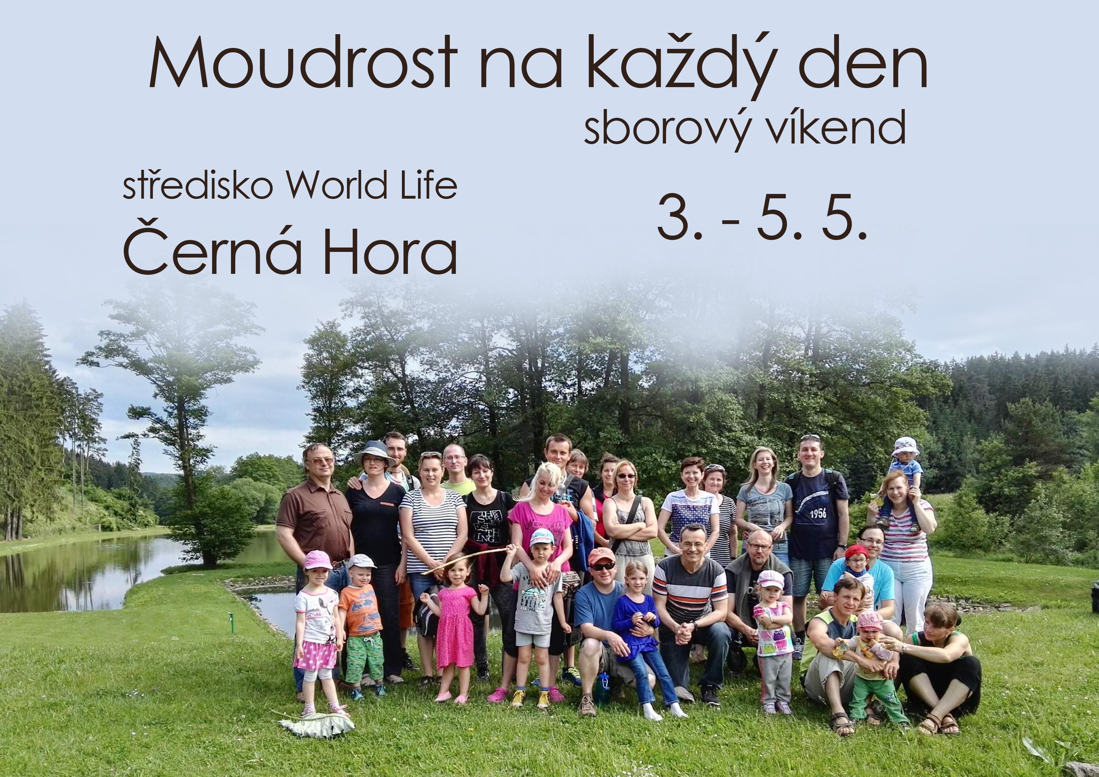 Víkendovka Černá Hora 2019